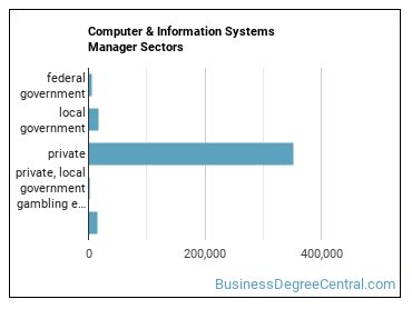 Computer & Information Systems Manager Sectors