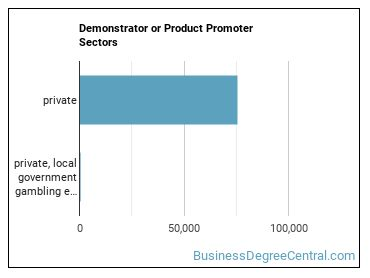 Demonstrator or Product Promoter Sectors