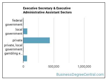 Executive Secretary & Executive Administrative Assistant Sectors