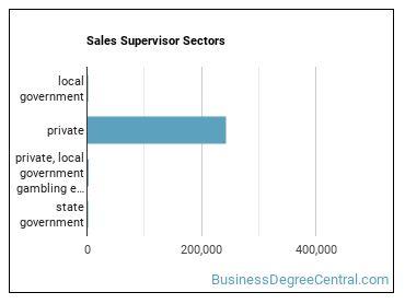 Sales Supervisor Sectors