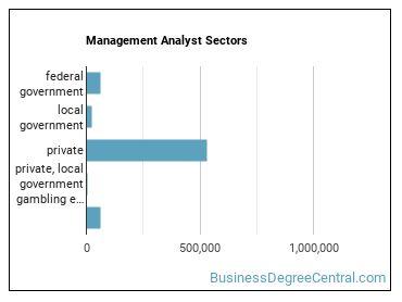 Management Analyst Sectors