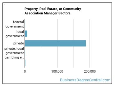 Property, Real Estate, or Community Association Manager Sectors