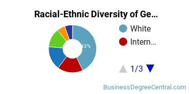 Racial-Ethnic Diversity of General Economics Majors at American University
