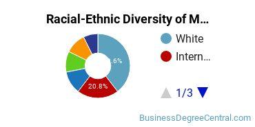 Racial-Ethnic Diversity of Management Sciences & Quantitative Methods Majors at American University