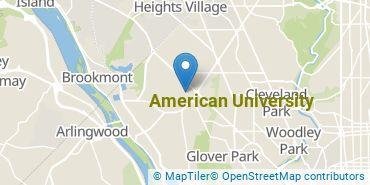 Location of American University
