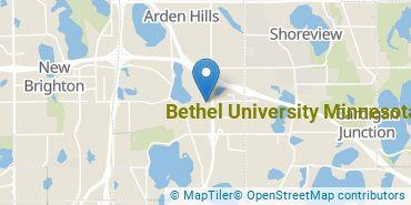 Location of Bethel University Minnesota