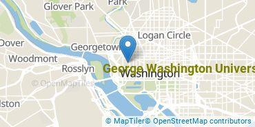 Location of George Washington University