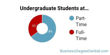 Full-Time vs. Part-Time Undergraduate Students at  Hennepin Technical College