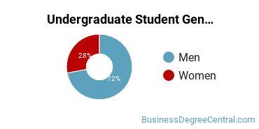 Undergraduate Student Gender Diversity at  Hennepin Technical College