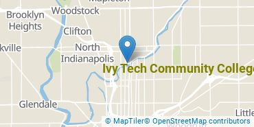 Location of Ivy Tech Community College