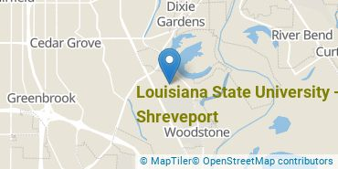 Location of Louisiana State University - Shreveport