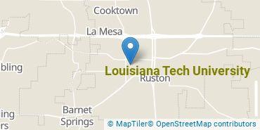 Location of Louisiana Tech University