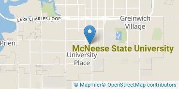 Location of McNeese State University