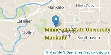 Location of Minnesota State University - Mankato
