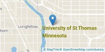 Location of University of St Thomas Minnesota