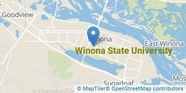 Location of Winona State University