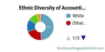 Accounting Majors in AZ Ethnic Diversity Statistics