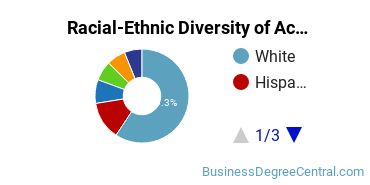 Racial-Ethnic Diversity of Accounting Students with Bachelor's Degrees