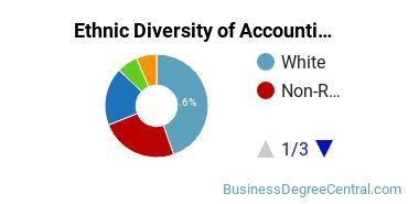 Accounting Majors in DC Ethnic Diversity Statistics