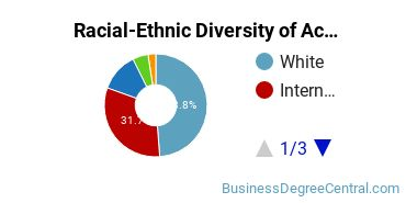 Racial-Ethnic Diversity of Accounting Doctor's Degree Students