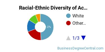 Racial-Ethnic Diversity of Accounting Graduate Certificate Students