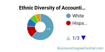 Accounting Majors in IL Ethnic Diversity Statistics