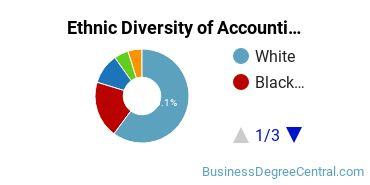 Accounting Majors in LA Ethnic Diversity Statistics