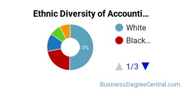 Accounting Majors in MD Ethnic Diversity Statistics