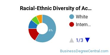 Racial-Ethnic Diversity of Accounting Master's Degree Students