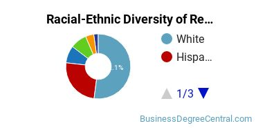 Racial-Ethnic Diversity of Retail Management Students with Bachelor's Degrees
