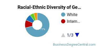 Racial-Ethnic Diversity of General Business Graduate Certificate Students