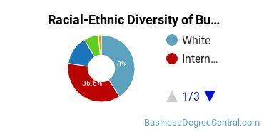 Racial-Ethnic Diversity of Business Communications Master's Degree Students