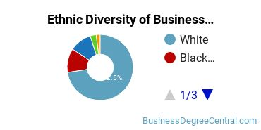 Corporate Communications Majors in PA Ethnic Diversity Statistics