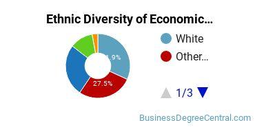 Economics Majors in HI Ethnic Diversity Statistics