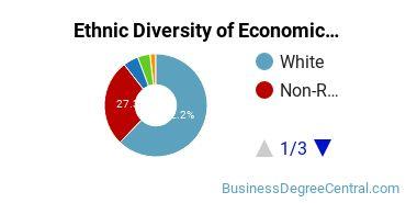 Economics Majors in IN Ethnic Diversity Statistics