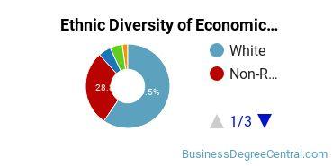 Economics Majors in IA Ethnic Diversity Statistics