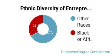 Entrepreneurial Studies Majors in AK Ethnic Diversity Statistics
