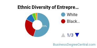 Entrepreneurial Studies Majors in AR Ethnic Diversity Statistics