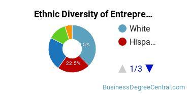 Entrepreneurial Studies Majors in CO Ethnic Diversity Statistics