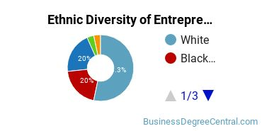 Entrepreneurial Studies Majors in NJ Ethnic Diversity Statistics