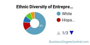 Entrepreneurial Studies Majors in RI Ethnic Diversity Statistics