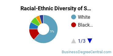 Racial-Ethnic Diversity of Small Business Administration/Management Students with Bachelor's Degrees