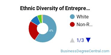 Entrepreneurial Studies Majors in UT Ethnic Diversity Statistics