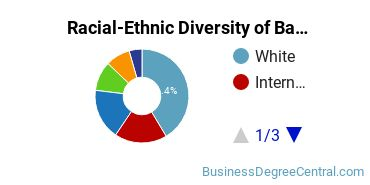 Racial-Ethnic Diversity of Banking and Financial Support Services Students with Bachelor's Degrees