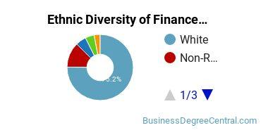 Finance & Financial Management Majors in MN Ethnic Diversity Statistics