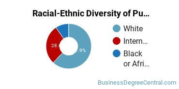 Racial-Ethnic Diversity of Public Finance Students with Bachelor's Degrees
