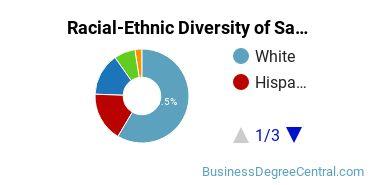 Racial-Ethnic Diversity of Sales & Marketing Graduate Certificate Students