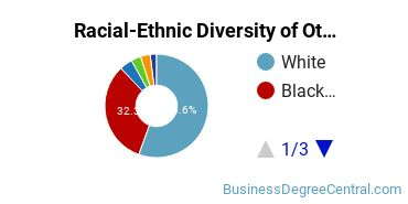 Racial-Ethnic Diversity of Other General Merchandising, Sales, and Related Marketing Operations Students with Bachelor's Degrees