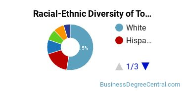 Racial-Ethnic Diversity of Tourism and Travel Services Management Students with Bachelor's Degrees