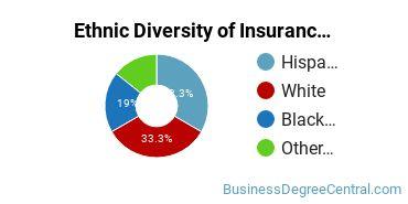 Insurance Majors in AZ Ethnic Diversity Statistics
